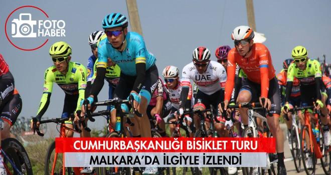 Cumhurbaşkanlığı Bisiklet Turu Malkara'da İlgiyle İzlendi