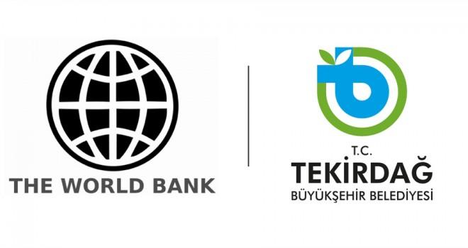 Büyükşehir Belediyesi'ne Dünya Bankasından Hibe Desteği