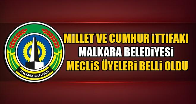 Malkara Belediye Meclis Üyeleri Belli Oldu