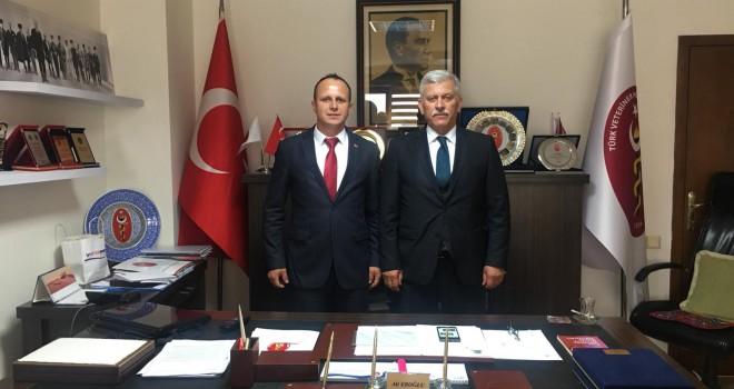 Başkan Durgun'dan Bakanlık ve Merkez Birliğini Ziyaret