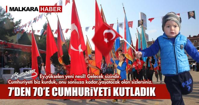 Türkiye Cumhuriyeti İlelebet Payidar Kalacaktır