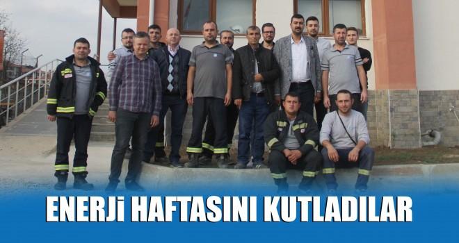 Enerji Çalışanları Haftası Malkara'da Kutlandı