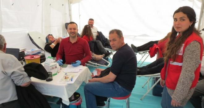 Malkara'da Kök Hücre ve Kan Bağışı Kampanyası