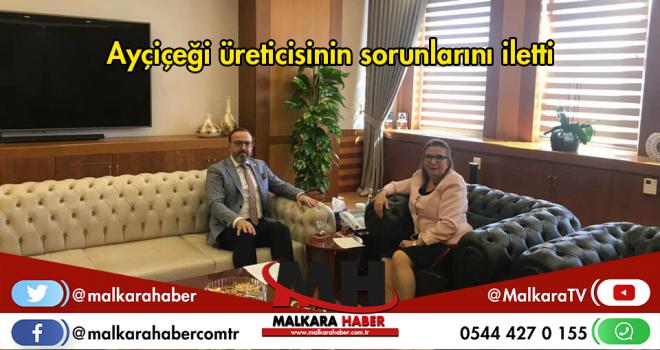 AK Partili Yel Ticaret Bakanı Pekcan'ı Ziyaret Etti