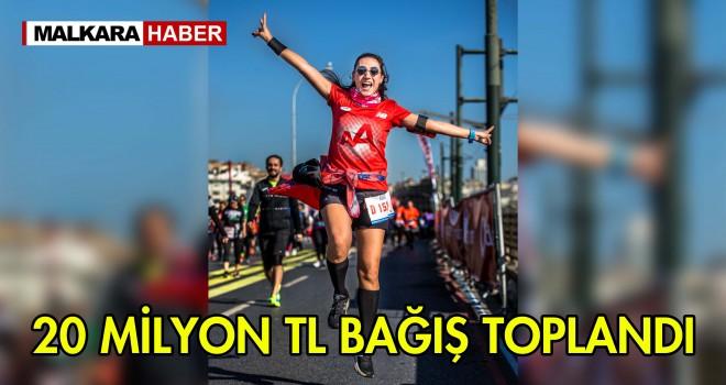 Vodafone 41. İstanbul Maratonu'nda Bağış Rekoru Kırıldı