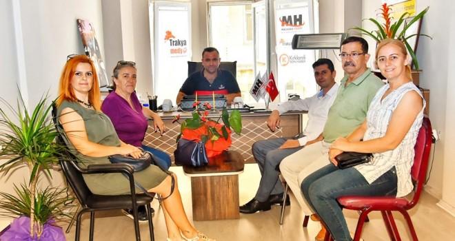 CHP Malkara İlçe Yönetiminden Hayırlı Olsun Ziyaretleri