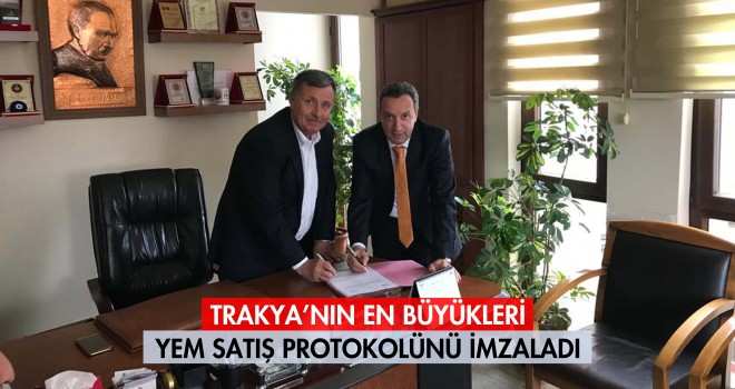Yem Satış Protokolü İmzalandı