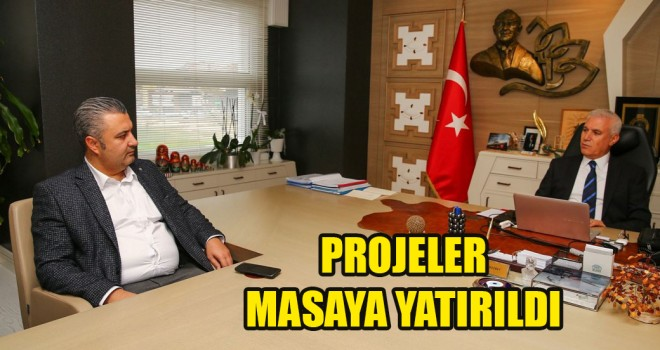 Başkan Yurdakul, Nilüfer Belediye Başkanı Mustafa Bozbey'i Ziyaret Etti