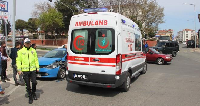 Şans Eseri Kaza'da Yaralanan Olmadı