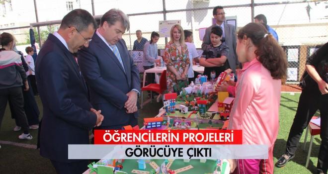 Mustafa Uysal Ortaokulu'nda Proje Şenliği