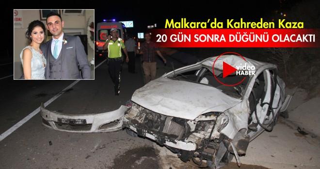 Malkara'da Trafik Kazası; 1 Kişi Öldü