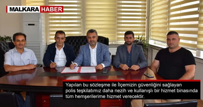 Malkara İlçe Emniyet Müdürlüğü Bakım ve Onarımı Sözleşmesi İmzalandı