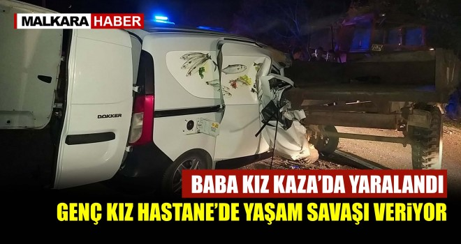 Tekirdağ'da Feci Kaza; 2 Yaralı