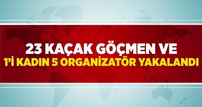 1'i Kadın 5 Organizatör Tutuklandı
