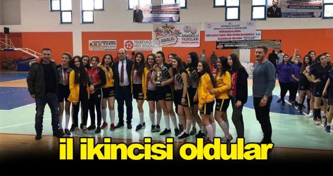 Gazi Ömer Bey Anadolu Lisesi İl 2'ncisi Oldu