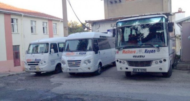 Malkara – Keşan Hattı Minibüs Ücretlerine Zam
