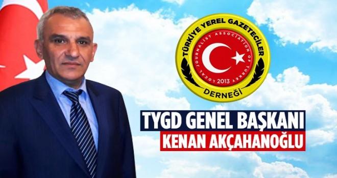 TYGD Başkanı Akçahanoğlu Çalışan Gazeteciler Gününü Kutladı