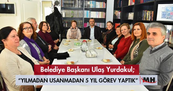 Başkan Yurdakul'dan ADD'ye Ziyaret