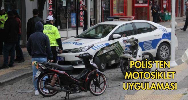 Polis'ten Motosiklet Uygulaması