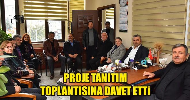 Belediye Başkanı Yurdakul'dan STK'lara Ziyaret
