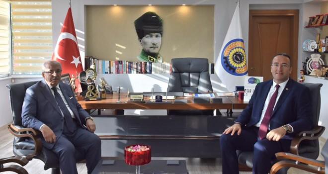 Başkan Albayrak'tan Trakya Bölgesi'ndeki Belediye Başkanlarına Ziyaret