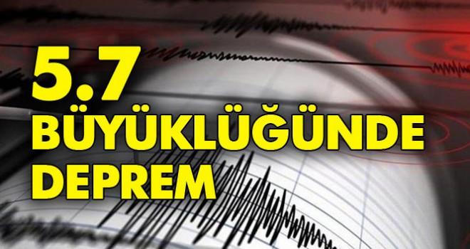 Son dakika… İstanbul 5,7 ile sallandı!