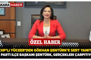 """CHP'li Yüceer'den Gökhan Şentürk'e Sert Yanıt, """"AK Parti İlçe Başkanı Şentürk, Gerçekleri Çarpıtıyor"""""""