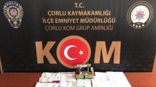 Çorlu'da tefeci operasyonu: 5 gözaltı