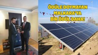 """Malkara'ya """"Güneşin Gücü"""" Projesine Ödül"""