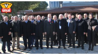 Meclis Başkanı Şentop, Ünal Peynirciliği Ziyaret Etti