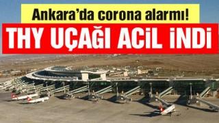 Son dakika… Havalimanında corona alarmı! THY uçağı acil iniş yaptı!