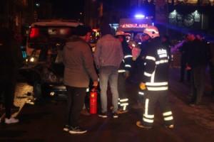 Tekirdağ'da Trafik Kazası; 4 Yaralı