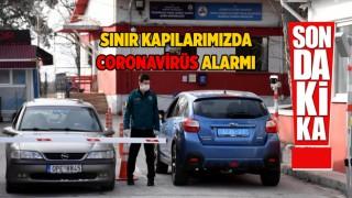 Trakya Gümrük Kapılarımızda Coronavirüs Önlemi