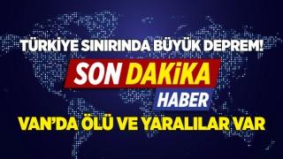 Türkiye-İran sınırında 5.9 büyüklüğünde deprem!