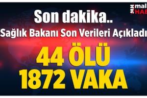 Bakan Koca açıkladı! İşte Türkiye'deki güncel korona virüsü vaka sayısı...