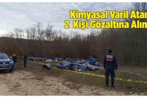 Çevreye Kimyasal Varil Atan 2 Kişi Gözaltına Alındı