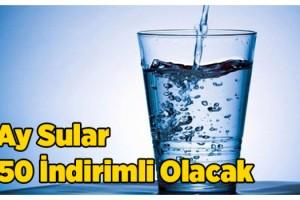 Edirne Belediyesi, suya yüzde 50 indirim yaptı