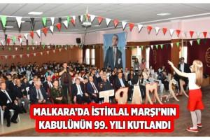 İstiklâl Marşı'nın Kabulü ve Mehmet Akif Ersoy'u Anma Programı Gerçekleştirildi