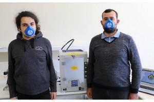 Kırklareli Üniversitesi'nde çok kullanımlı maske üretimi