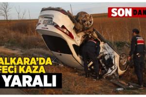 Malkara'da Feci Kaza; 7 Yaralı