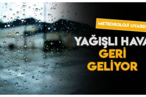Marmara'ya, Balkanlar'dan soğuk ve yağışlı hava geliyor
