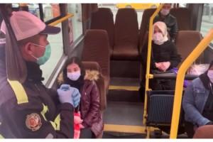 Polis koronavirüse karşı uyarılarına devam ediyor