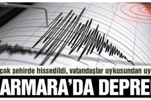 Son dakika… Marmara'da korkutan deprem