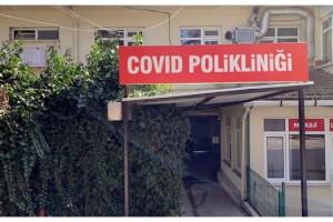Tekirdağ Devlet Hastanesi'nde, 'Covid Polikliniği' kuruldu