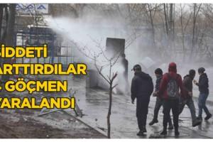 Yunan Güvenlik Güçleri Şiddeti Arttırdı; 4 Göçmen Yaralı