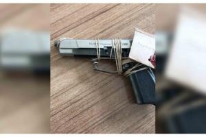 13 yaşındaki çocuk belinde tabancayla yakalandı