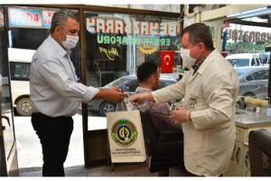 Malkara Belediyesinden Berber Ve Kuaförlere Hijyen Paketi Desteği