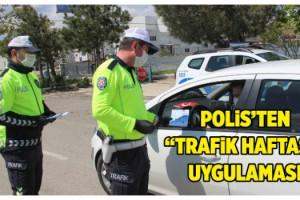 """Malkara'da """"Trafik Haftası"""" uygulaması"""