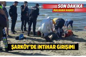 Şarköy'de Yaşlı Adam İntihar Girişiminde Bulundu