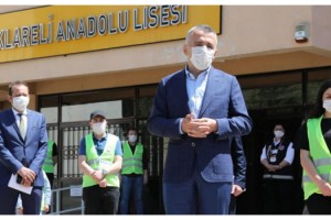Vali Bilgin: Kırklareli'de koronavirüs vakaları tekli rakamlara indi